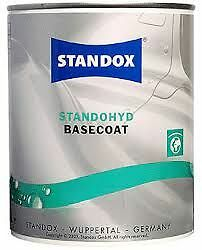 398 Standox Standohyd 1 Litre Waterbased Brilliant Silver Basecoat Tinter