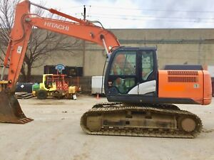 2013 Hitachi Zx160lc 5 John Deere 160d Approx 3600 Hrs Auxiliary Piping