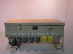 Power Distribution Panel 1r0460 1 Nsn 6110012365890 120v 60hz 225a More Info