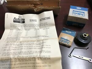 Autolite 4300 4v Nos Choke Cover Kit 428 4v 390 4v 289 4v C7az 9d814b Nos Ford M