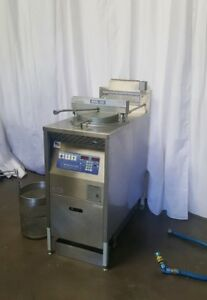 Broaster Company Pressure Deep Fryer Model 1800gh Natural Gas