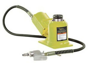 Esco 10399 Yellow Jackit 20 Ton Air hydraulic Low Profile Jack