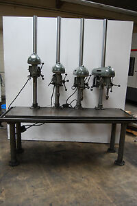 Buffalo 4 Head Table Drill Press