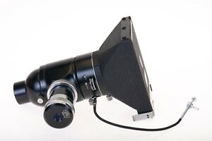 Carl Zeiss 6x9 Sheet Film Back Microscope Adapter With Shutter Rare Vintage