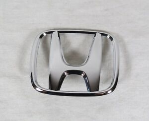 Honda Accord Sedan Trunk Emblem 06 07 Back New Oem Chrome Badge Sign Symbol Logo