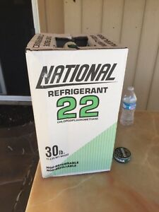 R 22 Refrigerant R22 Freon Sealed 30 Lb Cylinder National Brand virgin Gas