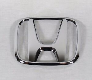 Honda Accord Coupe Trunk Emblem 08 12 Back Oem Chrome H Badge Sign Logo Symbol