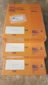 Staples White Shipping Labels 2 X 4 750 Sheets 7500 Labels Avery 5163 8163