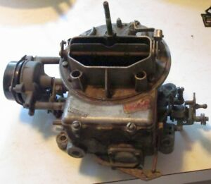 1958 C1 Chevy Corvette C1 Motorcraft Carburettor Make Me An Offer