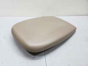1999 2002 Ford Expedition Center Console Lid Armrest Cover Light Tan 99 02 Oem