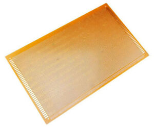 One Side 18x30 Cm Pcb Strip Board Printed Circuit Prototype Track Lw 2 5 10 Pc