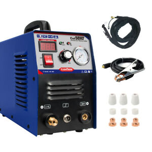 Plasma Cutter 50amp Dual Voltage Inverter Dc Cutting Machine 1 12mm Cut Fawad