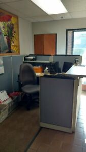 Office Reception Cubical