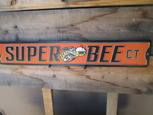 Dodge Super Bee Court Ct Mopar Metal Signs Charger Rt Dodge Chrysler Ram Hemi