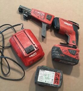 Hilti Sd4500 a18 Cordless Drywall Driver Screwdriver Batteries Charger smd50