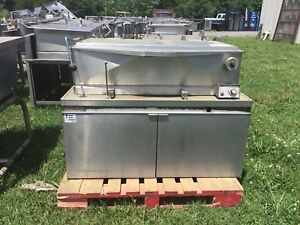 Market Forge 1800 Commercial Braising Pan 40gal Tilt Skillet Electric 240v 3ph