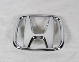 Honda Accord Coupe Emblem 06 07 Rear Trunk New Oem Chrome H Badge Sign Symbol