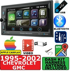 1995 02 Chevy Gmc Navigation Bluetooth Apple Carplay Car Stereo Radio Package
