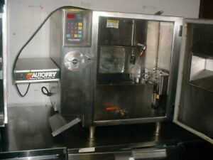 Autofry Mti 10 Ventless Automatic Electric Deep Fryer Works Great
