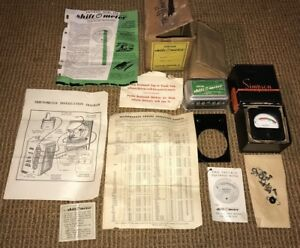 Vintage 1950 S Truck Kuecken Shift O Meter Driving Guide Simpson Tach Chevy Ford