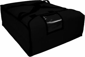 Case Of 2 Ovenhot Black Large Pizza Bags Holds 2 3 Sheet Pizzas New