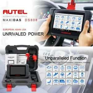 Maxidas Ds808 Autel Obd2 Auto Eobd Diagnostic Scanner Tool Ecu Immo Tpms Program