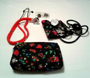 Prestige Medical Nurses Kit Sphygomanometer stethoscope 22 W Matching Bag