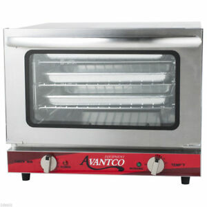 Avantco 1 4 Size Commercial Restaurant Countertop Convection Oven Pizza New