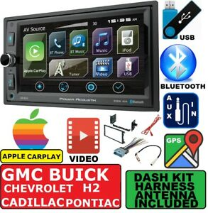 Chevy Gmc Gps Navigation System Bluetooth Apple Carplay Bluetooth Stereo Pkg