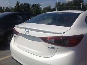 Mazda 3 Sedan Rear Wing Spoiler Painted Factory Style Lip 2014 2018 Jsp 368069