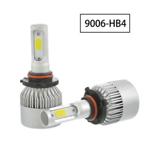 Us Sale 9006 Car Auto Led Hb4 Headlight Bulbs Driving Replacement 6500k 8000lm