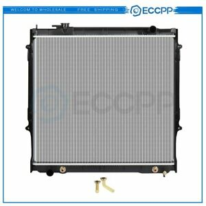 New Aluminum Radiator For 1995 2004 Toyota Tacoma 2 7l L4 3 4l V6 Fits Cu1755