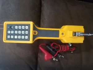 Fluke Networks Ts22 Telephone Test Set Angled Bed Of Nails Clips