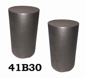 4 Round 4130 Steel Alloy boron Rolled Bars Billets 2 6 7 Long 41b30 H