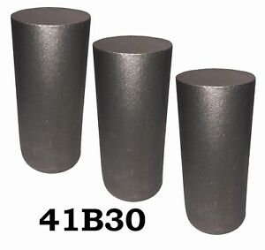 3 50 Round 4130 Steel Alloy Boron Rolled Bar Billets 3 6 7 Long 41b30