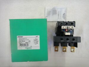 Nib Schneider Electric Thermal Overload Relay 95 120a Lrd4367