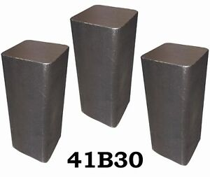 3 Rcs 4130 Steel Alloy Boron Rolled Bars Billets 3 6 7 Long 41b30 Usa