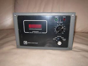 Vintage Leeds Northrup Multirange Conductivity Resistivity Analyzer W manual