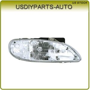 For 96 98 Grand Am Pontiac Head Lamp Light Assembly Right Side Gm2503140