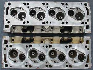 Aussie Ford 351 Cleveland Cylinder Heads 2v Closed Chamber 351c Australian Aus