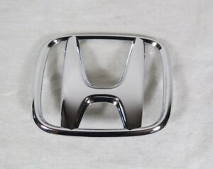 03 05 Honda Accord Sedan Trunk Emblem Back New Oem Chrome Badge Sign Symbol Logo