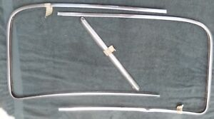 1947 1953 Chevrolet Gmc Truck Exterior Windshield Stainless Trim Mouldings
