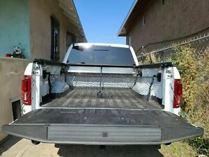 Truck Bed Envelope Style Trunk Mesh Cargo Net For Ford F 150 F150 2015 2021 New