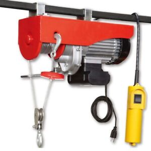 120v 60hz Electric Hoist 660 1320lbs With Automatic Brake
