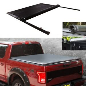 For 94 01 Dodge Ram 1500 2500 3500 6 5 Short Bed Lock Roll Up Soft Tonneau Cover