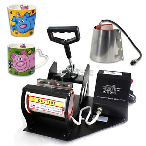 Heat Press Transfer Sublimation Machine Dual Digital For Cup Coffee Mug 11 12oz