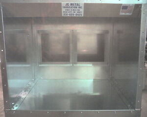 4ft Table Top Powder Spray Paint Booth