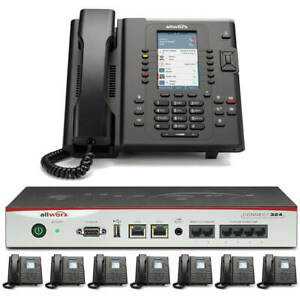 Allworx Connect 324 Business Phone System With 8 Color Display Verge Ip Phones