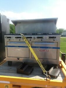 10 Burrner South Bend Stove Range southbend Commercial Double Oven Restaurant