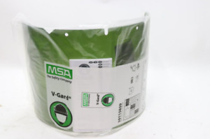 Lot Of 12 Msa 10115859 Visor Polycarb Shade 3 Ir 8x17 1 4 In